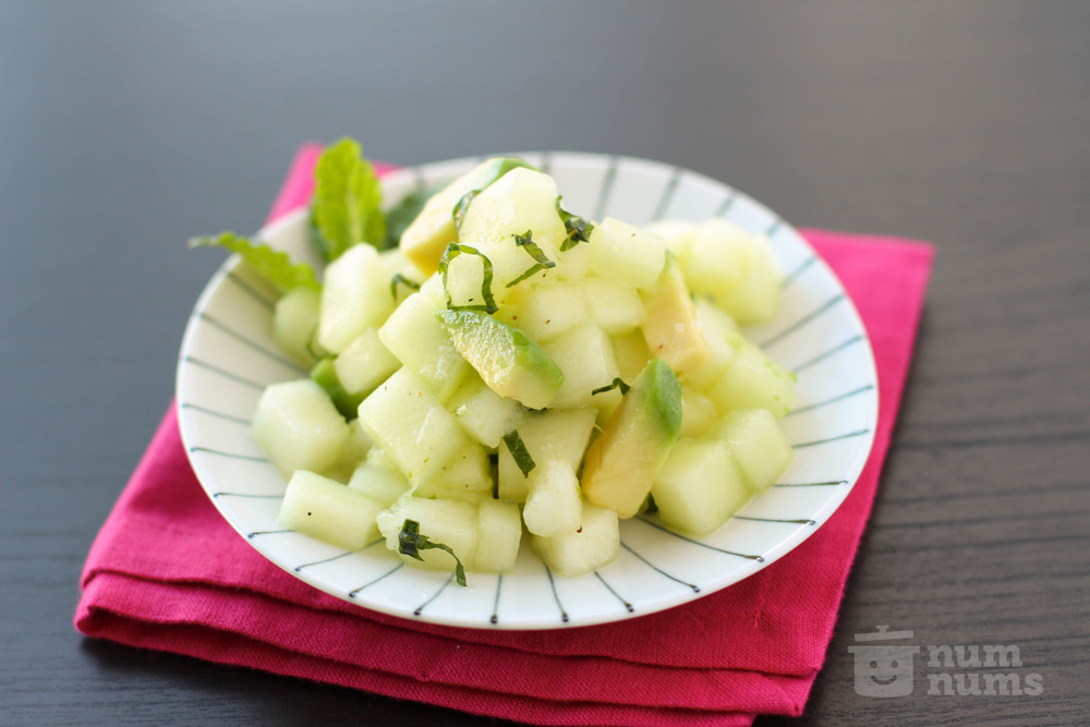 Honeydew and Avocado Salsa